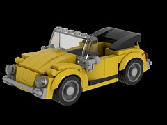 Beetle Cabrio (mbelx) Tags: car beetle lego mod