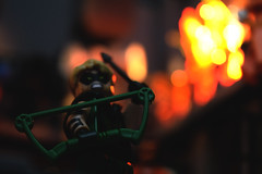 SUPERMAX (Andrew Cookston) Tags: lego green arrow oliver ollie queen fire explosion dc comics andrew cookston andrewcookston