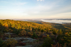 (mdiec) Tags: maine new england acadia national park cadillac mountain summit sunrise trees fall autumn foliage