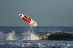 Wipeout! (Steviethewaspwhisperer) Tags: elliot arbroath surf surfing board wipeout