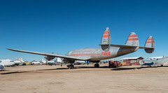 Constellation Tail with TWA livery (BlueVoter - thanks for 2.6M views) Tags: pimaair tucson museum plane propeller oldplanes