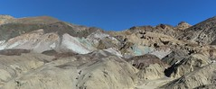 0203 Colorful mineral deposits on Artists Drive in Death Valley (_JFR_) Tags: camping hiking deathvalley deathvalleynationalpark artistsdrive artistspalette