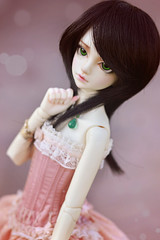 ☆ La vie en Rose ☆ (Shimiro Doll Photography) Tags: bjd doll photography nikon toys pullip dolls abjd portrait bjdphotography dollphotography boy boys androgynous cute kawaii balljointeddoll msd custom spiritdoll snowdrop spiritdollsnowdrop crossdressing snowdroppyrus pyrus