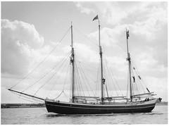 s/v Marilyn Anne (--br) Tags: fuji gw680 iii ilford delta 3200 1600 sailboat sailing vessel marilyn anne 120 film boat printed fomaspeed variant 311