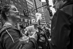 Broad Street, 2019 (Alan Barr) Tags: philadelphia 2019 broadstreet cigarette smoke street sp streetphotography streetphoto blackandwhite bw blackwhite mono monochrome candid city people panasonic gx9