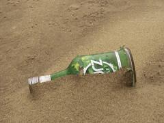 One Green Bottle (Charliebubbles) Tags: olympusem5mkii olympus1250mmez merseyside newbrighton photoshopcc stilllife travel england
