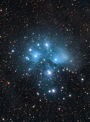 New M45 / Pleiades (rex.on.life) Tags: pleiades nebula stars astrophotography astronomy meade canon