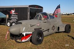 170408_118_SnF_Trudeau_Warhawk_Car (AgentADQ) Tags: sun n fun flyin expo lakeland florida 2017 airshow trudeau p40 warhawk car