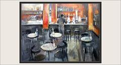CAFETERIA-TARRAGONA-PINTURA-ARTE-INTERIOR-INTERIORES-CAFETERIAS-PERSONAJE-COMPOSICION-DECORACION-MESAS-PINTURAS-ARTISTA-PINTOR-ERNEST DESCALS (Ernest Descals) Tags: cafeteria cafeteries cafeterias tarragona locales restaurant restaurantes naranjas mesas cafe coffeshop indoor interior interiores componer composicion plaçadelafont paisatges urbans paisajes urbanos urban landscape landscaping people gente personas personajes personatges mostrador pastas desayunar comer decoracion arquitectura columnas rojas electodomesticos jugos pintura pinturas pintures sereshumanos vida life cuadro cuadros granformato lienzos lienzo pintar pintant pintando painting paintings painter painters paint pictures interiors gastronomicos pintor pintores paisaje urbano plastica luces mobiliario cotidianas ernestdescals plasticos art pintors artwork arte