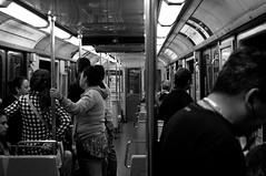 Metro-2 (disurbia) Tags: creativecommons urban city ciudad santiago black bw nb monochrome distopia dystopia stgo streetphotography photography metro underground
