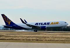N645GT Atlas Air Boeing 767-300 (czerwonyr) Tags: n645gt atlas air boeing 767300 hhn edfh