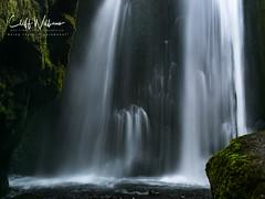 Hidden beauty (cliffwilliams449) Tags: ice waterfall iceland innamoramento