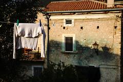 I wish for a bit of sun (sandrorotonaria) Tags: white drying shirt sun ciociaria
