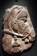 Horse's head with trappings (calmeilles) Tags: london england unitedkingdom ashurbanipal britishmuseum assyria ancienthistory archaeology middleeast nineveh