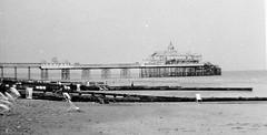 A Pier (vintage ladies) Tags: vintage blackandwhite photograph photo pier seaside coast