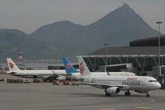 Dragonair (So Cal Metro) Tags: airline airliner airplane aircraft plane jet aviation airport hongkong hkg