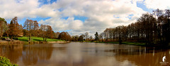 Drayton Pool (spennells pensioner) Tags: panorama tokina 1224mm drayton belbroughton chaddesley kidderminster worcestershire lake pool cold frosty sunny atmospheric