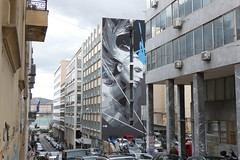 Ino - Lost (pantelispan) Tags: ino street artist streetartist graffiti piraeus lost mural πειραιάσ λιμάνι πειραιά art