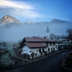 Bad Oberdorf (stijn) Tags: fog germany bayern allgäu badhindelang badoberdorf