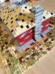 desert house (MOCquette brick studio) Tags: legomoc lego legocity legobricks adultfanoflego afol legodesert bricklink bricks legodiorama legohouse