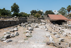Mausoleum at Halicarnassus (Shadowgate) Tags: halicarnassus sevenwonder mausoleum bodrum turkey ancient history