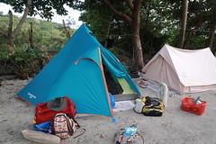 IMG_7318 (諾雅爾菲) Tags: taiwan camping 台灣 墾丁 露營 香蕉灣原始林露營區 熊帳 coleman 印地安帳