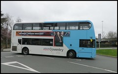 NX Coventry bus 4887 enters Pool Meadow Coventry. (nexapt101) Tags: 4887 bus coventry