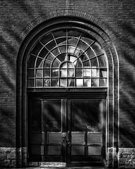 industry decay Door (MAICN) Tags: architektur building decay industrie mono tür sw structure door backsteine bw blackwhite monochrome ziegel schwarzweis architecture front ziegelstein einfarbig 2019 struktur gebäude