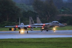 Eagles on the Runway (Takk D. Martin) Tags: f15 eagle aim120 amraam acmi 600gal