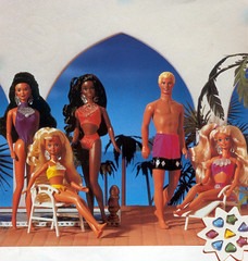 1993 Sun Jewel Kira Marina Skipper Ken Barbie Christie (Barbie Collectors Guide '90s) Tags: 1993 sun jewel kira marina skipper ken barbie christie