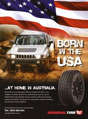2010 General Tire Tyres Hummer Aussie Original Magazine Advertisement (Darren Marlow) Tags: 1 2 20 10 2010 g general t tire tyres 4 w d 4wd h hummer c car cool a automobile v vehicle 10s