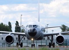 Airbus A-320 F-GFKJ (707-348C) Tags: parisdegaulle paris lfpg passenger airliner jetliner airbus airbusa319 fgfkj retro specialcolours a319 airfrance afr france cdg 2011