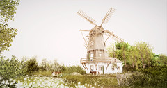 ...on the other Side (Layla Falconvale) Tags: sl laylafalconvale secondlife slphotography windmill landscape