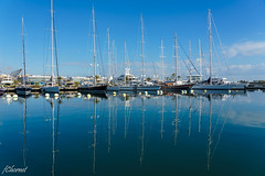 Puerto (Francisco Chornet) Tags: puerto valencia agua mar barcos fe424105g azul beautifullight a7