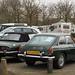 1967 MG MGB GT & 1975 Triumph Stag