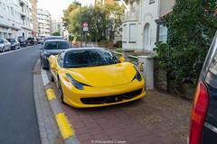 458 Italia (Alessandro_059) Tags: ferrari 458 italia yellow