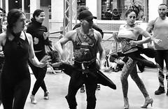 les danseurs (gregjack!) Tags: blackandwhite bnw dancers dance candid people centquatre 104 104centquatre paris france