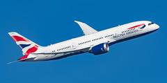British Airways Boeing 787-800 G-ZBJK (Thames Air) Tags: british airways boeing gzbjk london heathrow 09r banker feltham park 787800