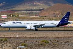 D-AIDA Lufthansa Airbus A321-200, GCTS, Spain (Sebastian Viinikainen.) Tags: daida lufthansa a321200 gcts spain