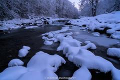 (C.H.Diegel Photography) Tags: jeffersonvillevermont vermont greenmountains greenmountainstate dusk bluehour brewsterriverpark brewsterriver