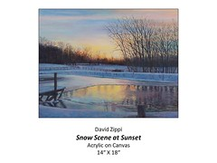 "Snow Scene at Sunset • <a style=""font-size:0.8em;"" href=""https://www.flickr.com/photos/124378531@N04/46737919482/"" target=""_blank"">View on Flickr</a>"