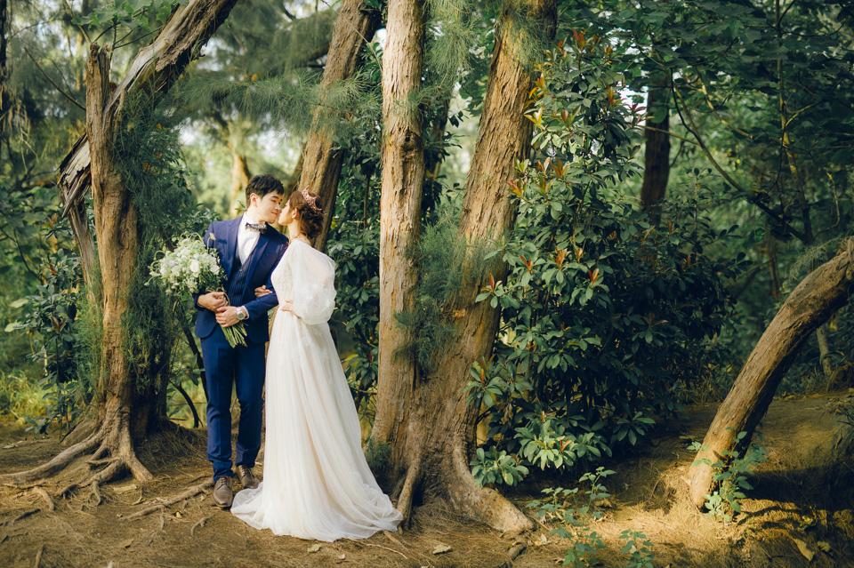 台南自助婚紗 女生都愛的仙仙風格婚紗 035