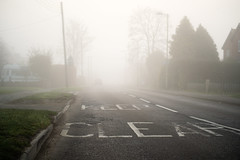20190224 (Homemade) Tags: road street fog mist morning grove vivitar70210mmf35series1 wantage oxfordshire southoxfordshire
