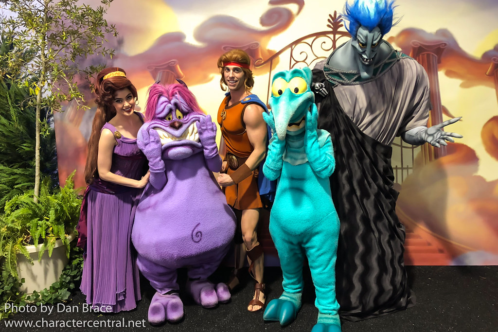 Hercules Movie At Disney Character Central
