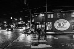 U.R.B (Ben at St. Louis Energized) Tags: stl stlouis forestparksoutheast thegrove urbanchestnut ucbc urbanresearchbrewery beer craftbeer streetphotography city urban blackandwhite monochrome street