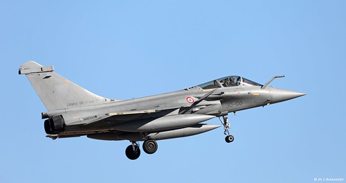 Armee de l'Air Dassault Rafale C 138/30-GQ EC 2/30 Normandie-Niemen, TLP 2019-1, Albacete AFB/LEAB