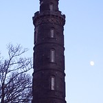 Winter Moonrise by the Nelson Monument thumbnail