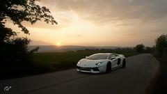 Lamborghini Aventador (ivan_92) Tags: screenshots game vidoegame car supercars lamborghini aventador ps4 4k granturismosport racing road