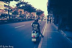 street @taipei (~kenlwc) Tags: taipei girl street color bike motorbike leica leicam8 21mm asph super elmar kenlwc kenleung prime taipe