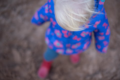 Little red welly walk (jillyspoon) Tags: sigmamc11 50mm niftyfifty sonya7111 sony explore wellies redwellies toddler winter wrappedup